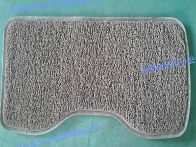 PVC丝圈脚垫压边样品