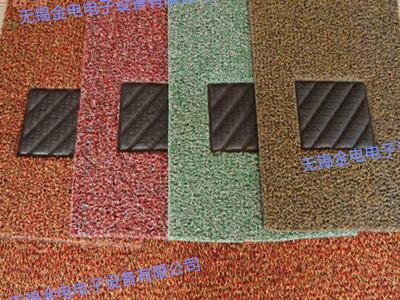 丝圈脚垫防滑块焊接样品