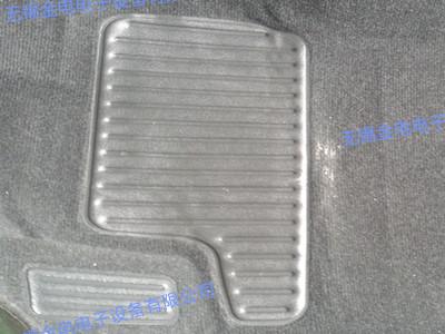 整车脚垫焊接样品