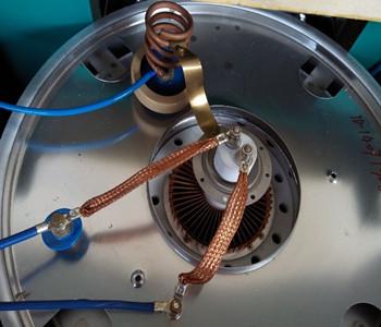 电子管安装示意图
