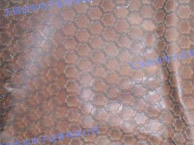 玉石床垫皮革压印样品