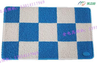 PVC拼色地毯热合样品