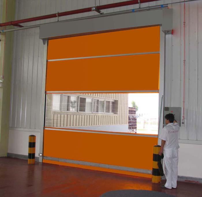 PVC卷帘门焊接加工