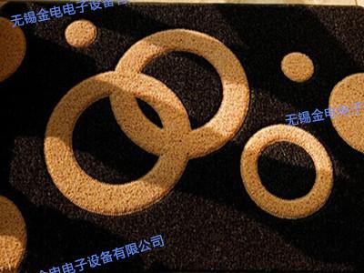 大功率高频机地毯焊接样品