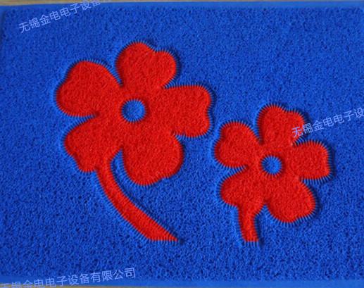 PVC花色地毯热合样品