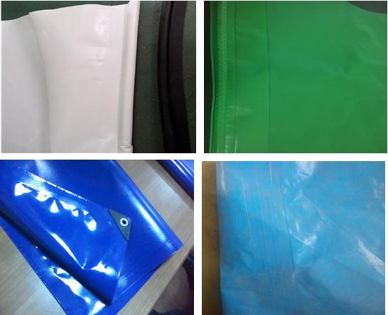 PVC涂层布焊接样品