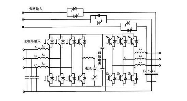 高频机电源图