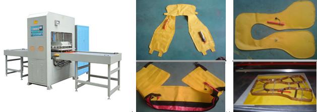 救生衣热合焊接案例
