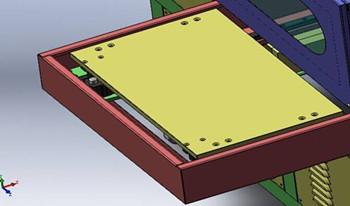 高频机自动滑台结构图