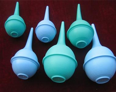 洗耳球熔接样品