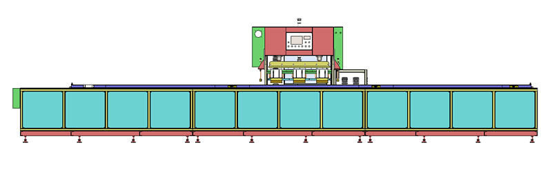 轨道式高频热合机