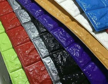 PVC发泡墙纸焊接样品