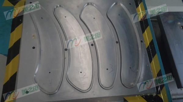 粘贴式暖绒马桶垫高周波模具