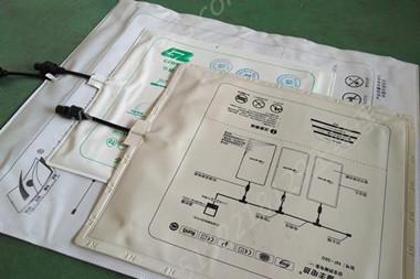石墨烯电热膜套袋焊接样品