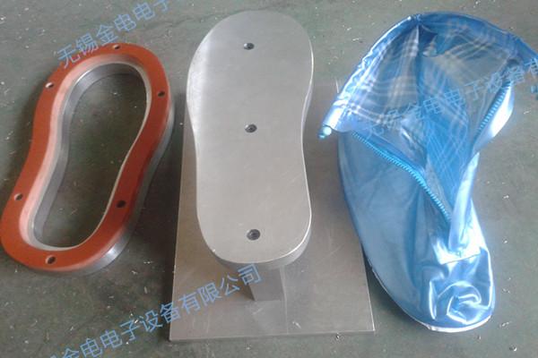 防水雨鞋高频热合样品