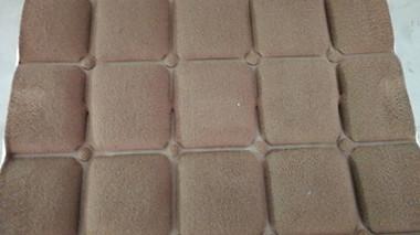 海绵床垫压花样品