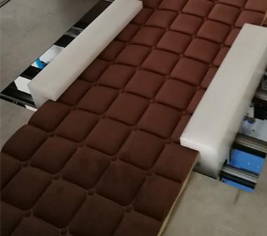 海绵床垫高频压花样品