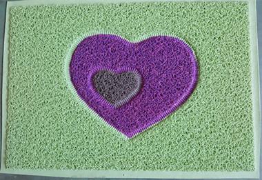 花色丝圈地毯热合样品