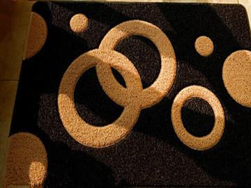 丝圈花色地毯焊接样品