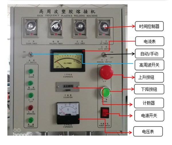 单头高周波控制面板