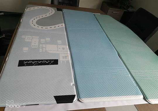 PVC厨房地垫热合机样品