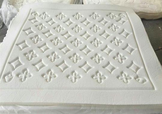 海绵床垫高周波压花机样品