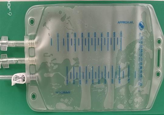 PVC药袋热合机样品