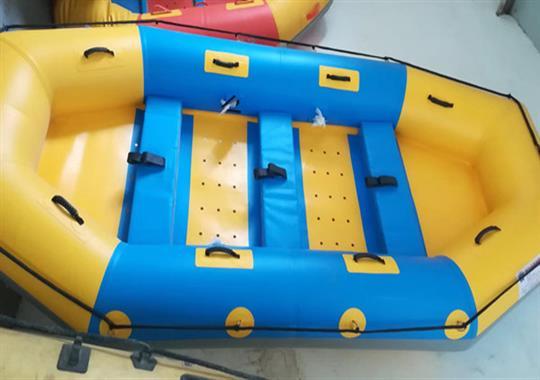 PVC漂流船热合机样品