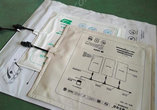 石墨烯地暖膜套袋热合机样品
