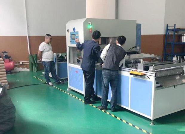 石墨烯地暖套袋热合机(杭州熊爸爸工厂)