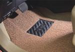 汽车丝圈地毯接样品